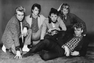 Rockats 1980, from left,Jerry Nolan,Guy Hemmer,Smutty Smiff,Stephen Dibbs Preston,Barry Ryan
