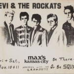 Poster for the first American show