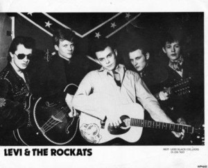 Early publicity shot with Don Devereaux, Eddie Dibbles, Levi Dexter, Mike Barry and Smutt Smith