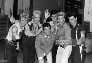 The Rockats with Dick Clark