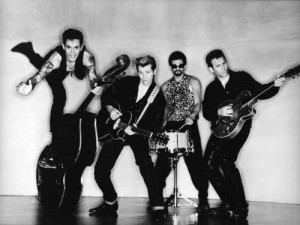 Circa 1992 - Smutty, Dibbs, Ira Kaye and Barry