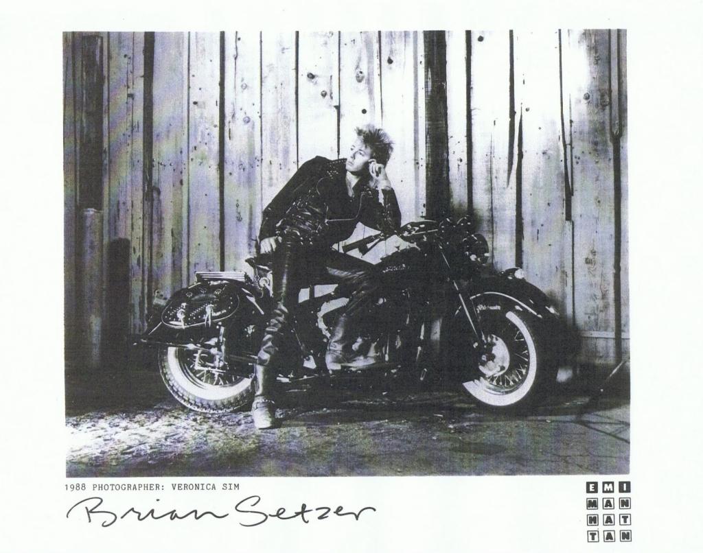 Brian Setzer Live nude guitar