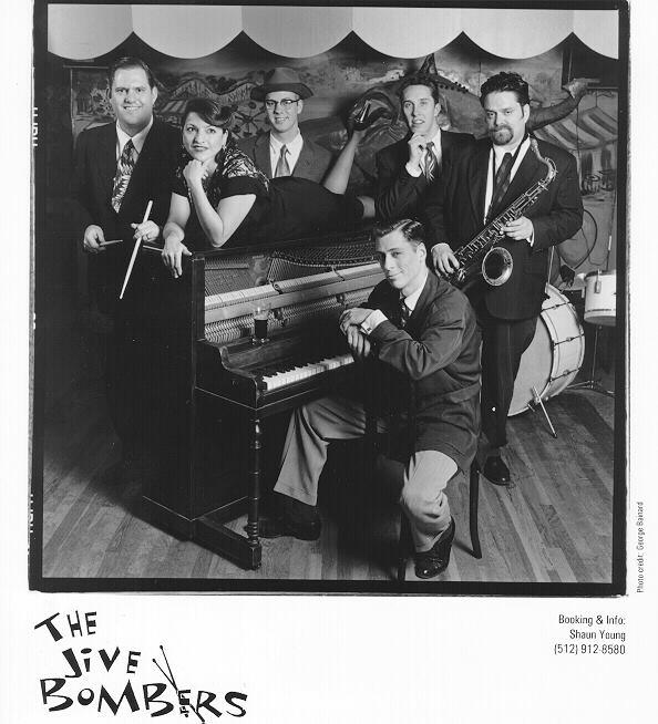The Jive Bombers (Shaun Young, Dana Dattalo, Bobby Horton, Derek Peterson, Vance Hazen, Murph Motycka)
