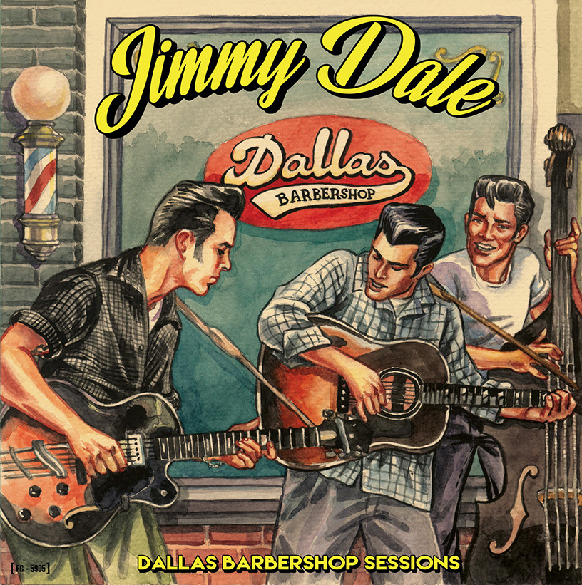 Jimmy Dale Dallas Barbershop sessions